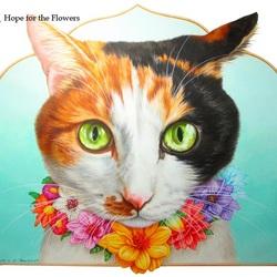 Пазл онлайн: Надеюсь, вам понравились цветы