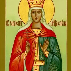Пазл онлайн: Святая равноапостольная Царица Елена