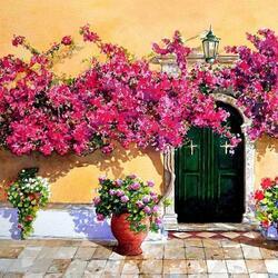 Пазл онлайн: Пышное цветение