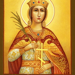 Пазл онлайн: Екатерина великомученица