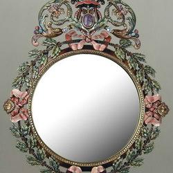 Пазл онлайн: Зеркало в оправе