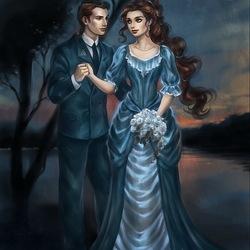 Пазл онлайн: Викторианская любовь