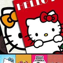 Пазл онлайн: Открытки Hello Kitty