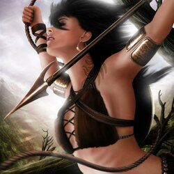 Пазл онлайн: Охотница