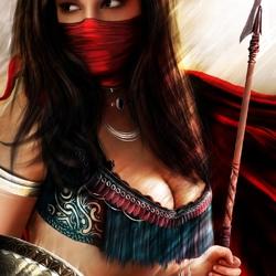 Пазл онлайн: Персидская воительница