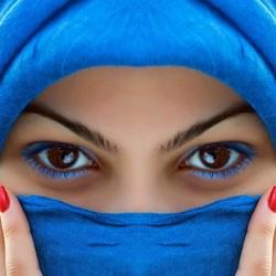 Пазл онлайн: Эти глаза