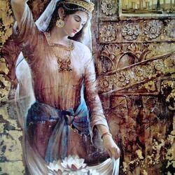 Пазл онлайн: Ассирийка - сияющая  звезда