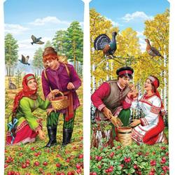 Пазл онлайн: Русская ягода