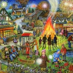 Пазл онлайн: Праздник осени