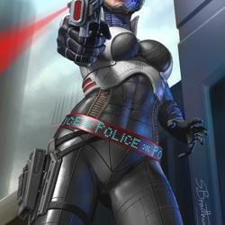 Пазл онлайн: Космическая полиция