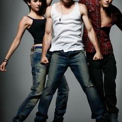 Пазл онлайн: Елена, Дэймон, Стефан