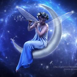 Пазл онлайн: Лунная фея
