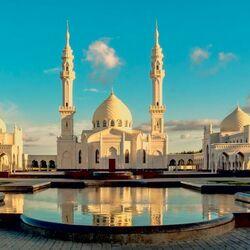 Пазл онлайн: Белая мечеть, Булгар