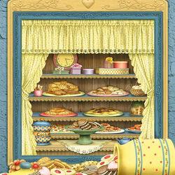 Пазл онлайн: Буфет с печеньем