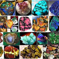 Пазл онлайн: Коллаж из камней