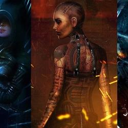 Пазл онлайн: Mass Effect