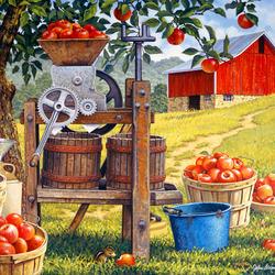 Пазл онлайн: Время яблочного сидра