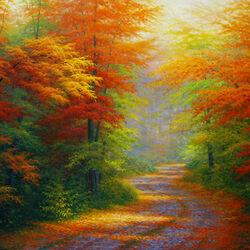 Пазл онлайн: Осенняя интерлюдия