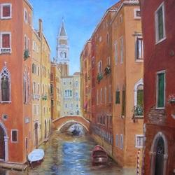 Пазл онлайн: Улочка Венеции
