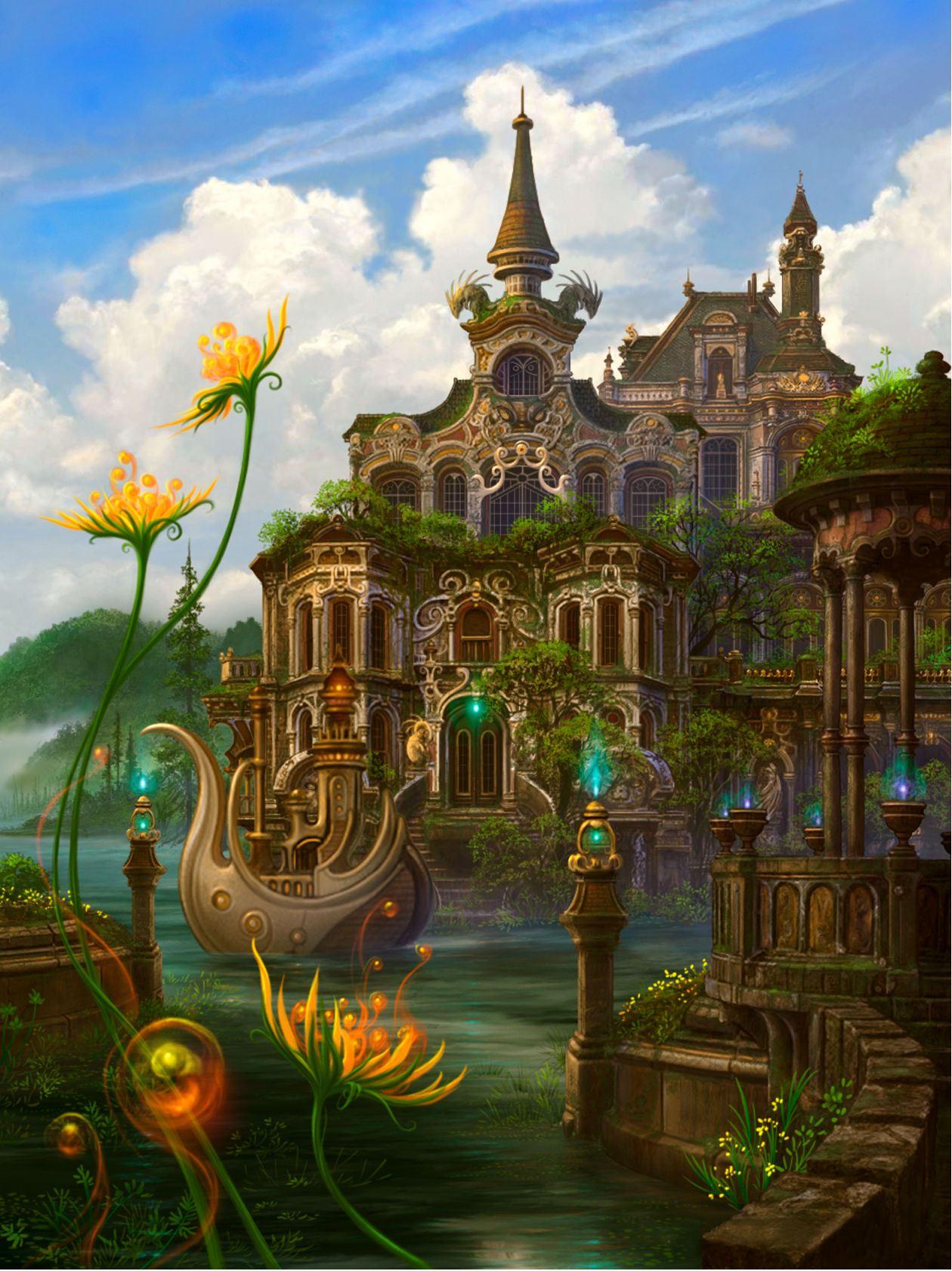 фантастические сказочные миры картинки иначе