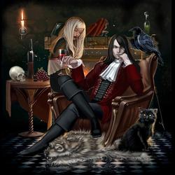 Пазл онлайн: Лорд Вампир