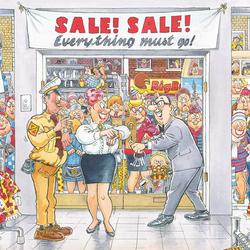 Пазл онлайн: Распродажа
