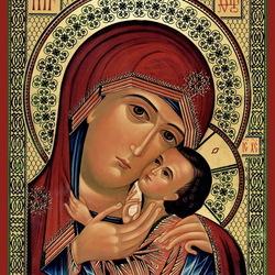 Пазл онлайн: Касперская икона Божьей Матери