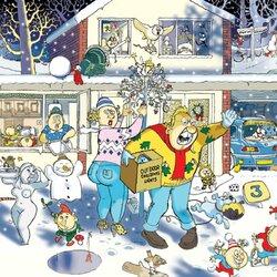 Пазл онлайн: Светлая Рождественская ночь