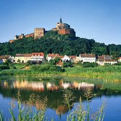 Пазл онлайн: Замок Бург Гюссинг. Австрия