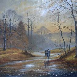 Пазл онлайн: Теплый осенний дождь