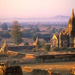 Пазл онлайн: Древний город Паган, Бирма