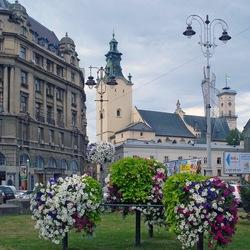Пазл онлайн: Красивый город Львов