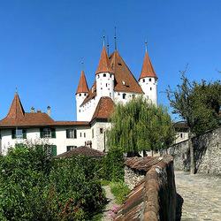 Пазл онлайн: Замок Херблинген. Швейцария