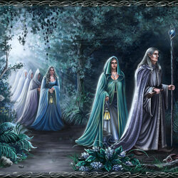 Пазл онлайн: Эльфы покидают Средиземье