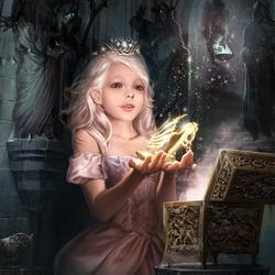 Пазл онлайн:  Виктория и волшебная обувь