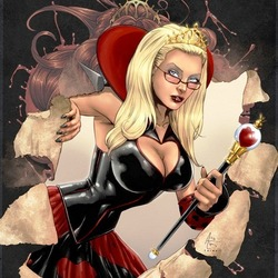 Пазл онлайн: Червовая королева