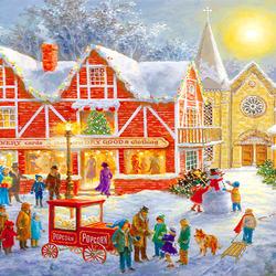 Пазл онлайн: Рождественский фестиваль