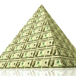 Пазл онлайн: Долларова пирамида