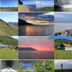 Пазл онлайн: Южный Байкал