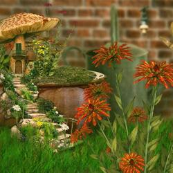 Пазл онлайн: Секретный сад (The Secret garden)