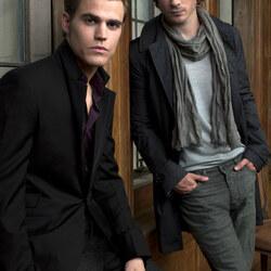 Пазл онлайн: Деймон и Стефан