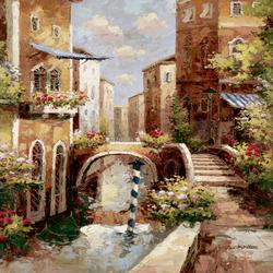 Пазл онлайн: Венецианская улочка
