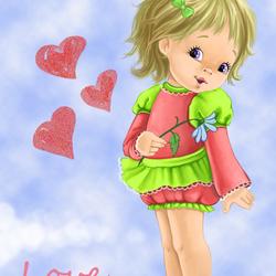 Пазл онлайн: Любовь...