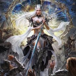 Пазл онлайн: Королева эльфов