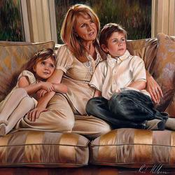 Пазл онлайн: Семья