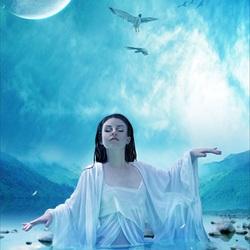 Пазл онлайн: Медитация