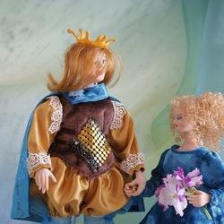 Пазл онлайн: Куклы из сказки