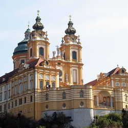 Пазл онлайн: Аббатство Мельк.Бенедиктинский монастырь.Австрия