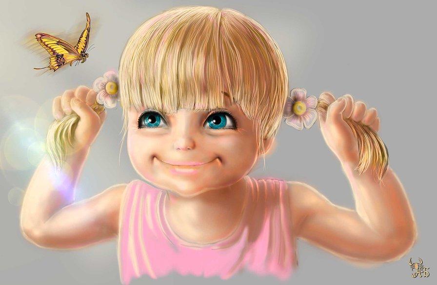 Картинка девчонка смешная
