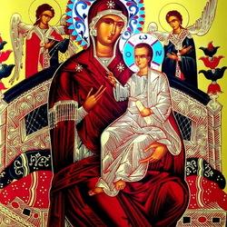 Пазл онлайн: Икона Божьей Матери Всецарица или Пантанасса